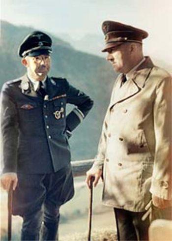 Algunas ilustraciones del Führer y el Tercer Reich