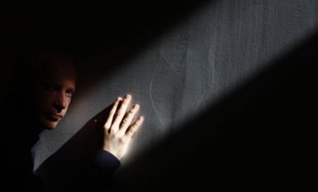 El matemático Marcus du Sautoy, fotografiado ayer en Madrid.