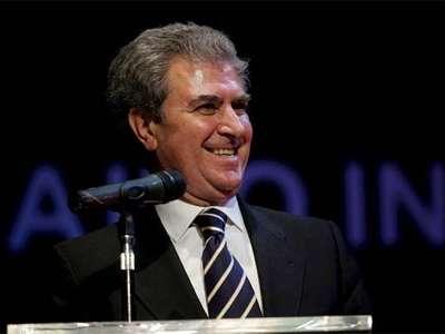 El ministro de Cultura, César Antonio Molina, en El Cairo el pasado martes. EFE