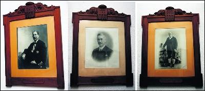 De izquierda a derecha: Victoriano Fabra Gil, iniciador de la saga, Victoriano Fabra Adelanto y Luis Fabra Sanz.