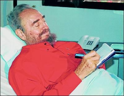 Fidel en una foto de agosto de 2006.