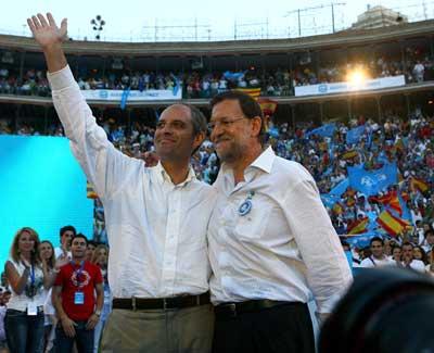 Rajoy y Camps se reunieron en un parador en Cuenca el día 30 de septiembre