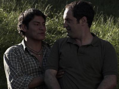 Christian Esquivel y Josean Bengoetxea protagonizan el primer filme vasco (y en vasco) de temática gay