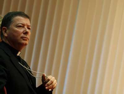El portavoz de la Conferencia Episcopal, Juan Antonio Martínez Camino. - GABRIEL PECOT