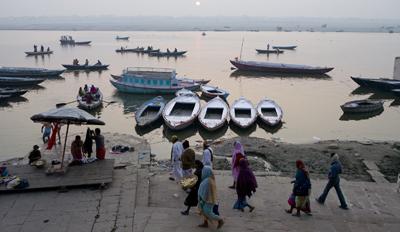 Impresionante rio Ganges, un misterio sin revelar.
