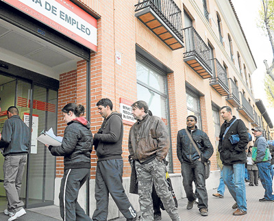 La ampliación de los subsidios es una preocupación de los agentes sociales. - EFE