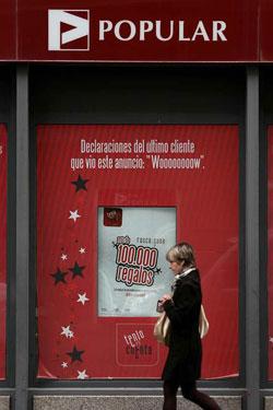 El banco popular cerrar 300 sucursales antes de 2010 for Sucursales banco de espana madrid