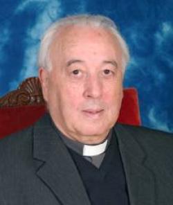 El obispo de Segovia, Ángel Rubio Castro. ARCHIVO