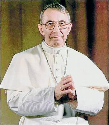 Resultado de imagen para papa juan pablo primero