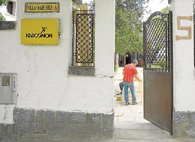 Entrada de uno de los centros Narconon para la rehabilitación de drogadictos. - MIGUEL G. CASTRO
