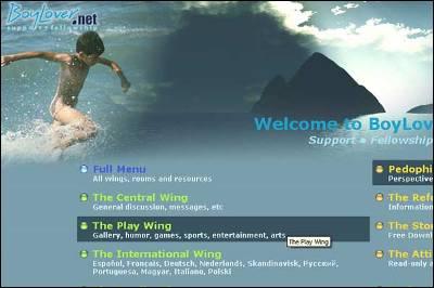 Captura de la página web de la comunidad Boylover.