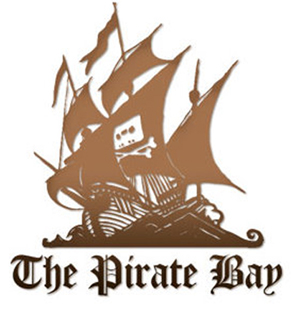 Logo de The Pirate Bay.
