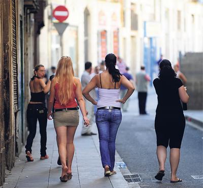 prostitución callejera el raval prostitutas