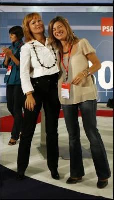 Bibiana Aido y Leire Pajín