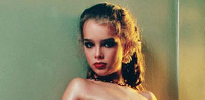 Shields, fotografiada por Gary Gross cuando contaba con diez años.