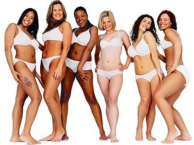 Las 'Mujeres Reales' presentadas por la marca de jabones y cremas Dove
