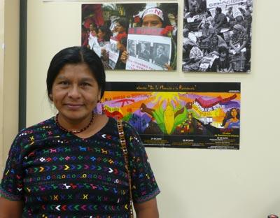 Julia, presidenta de la Asociación Justicia y Reconciliación (AJR).