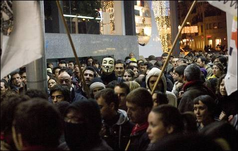 Barcelona se une a las manifestaciones para pedir la libertad de Assange.