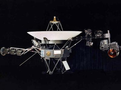 Ilustración de la sonda Voyager'.NASA