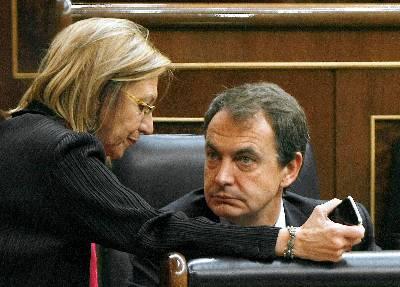 Rosa Díez (UPyD) vs. Zapatero (PSOE)