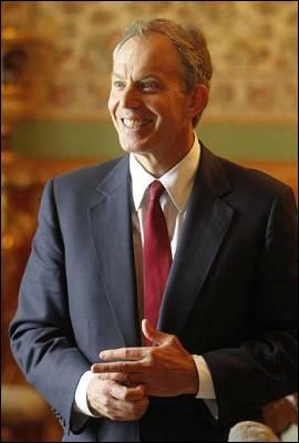 El ex primer ministro británico, y ahora  representante especial del Cuarteto de Mediadores para Oriente Medio (EEUU, UE, ONU y Rusia), Tony Blair.