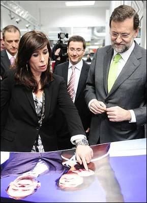 Alicia Sánchez Camacho, junto a Mariano Rajoy en una imagen de archivo.