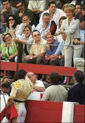 Aguirre declara en Madrid las corridas bien cultural 1267823342245aguirredetalledn
