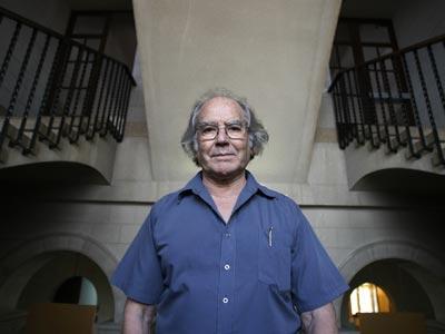 Pérez Esquivel, en el Centro Borja de San Cugat, en julio de 2009. - Albert GEA