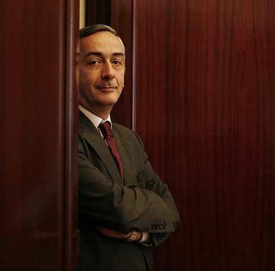El secretario de Estado de Hacienda, Carlos Ocaña. MÓNICA PATXOT