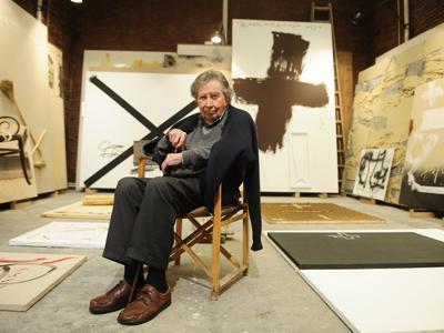 El artista de la materia habla de su obra y sus pensamientos.
