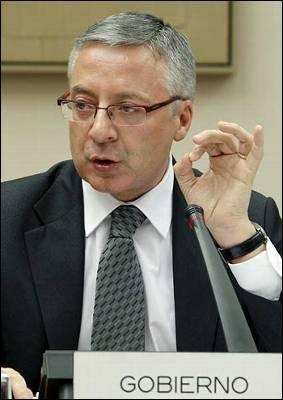 El ministro de Fomento, José Blanco.