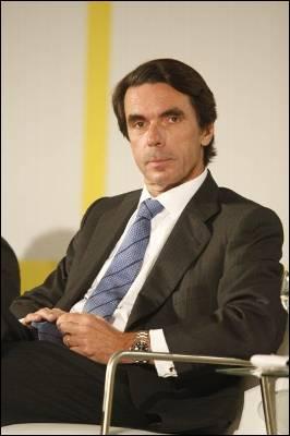 El ex presidente del gobierno Jose Maria Aznar en el Economic  Ideas Forum.