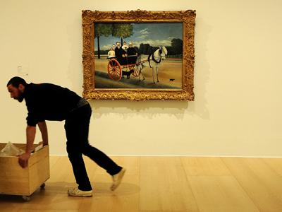 El Museo acoge la primera muestra monográfica dedicada a Rousseau.Humberto Bilbao