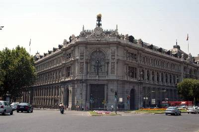 Банковское дело Министерство экономики и финансов разрабатывает положения для Банка Испании которым он должен следовать при реализации денежной и кредитной политики