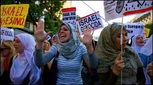Protestas en todo el mundo