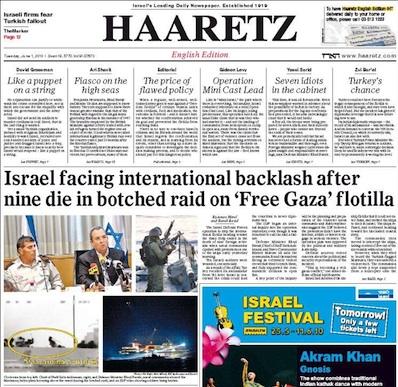 Los siete artículos de opinión de Haaretz son muy críticos con la actuación del Gobierno.