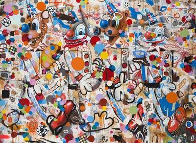 Real Special Very Painting, de Barry Reigate, una de las obras presentes en la muestra de la Saatchi Gallery. EFE