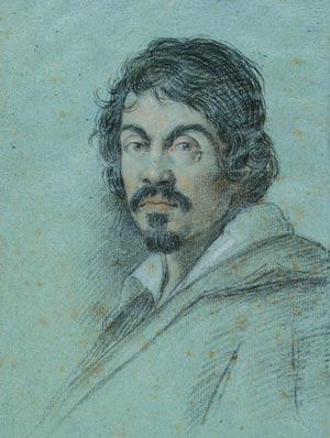 Dibujo de Caravaggio