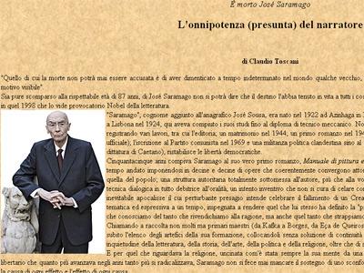 Página web del diario vaticano.