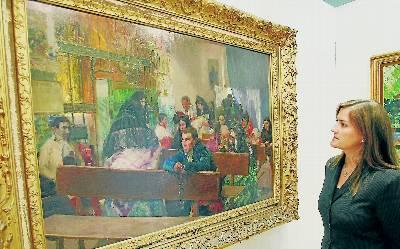 Pintada en 1900, El bautizo, de Joaquín Sorolla había permanecido en manos privadas desde entonces. EFE