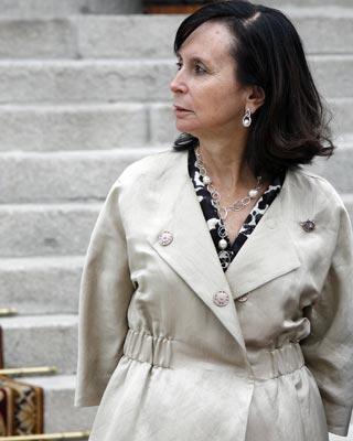 a presidenta del Constitucional, María Emilia Casas.Mónica Patxot