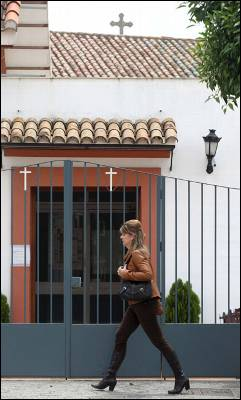 El centro religioso para discapacitados en Córdoba.