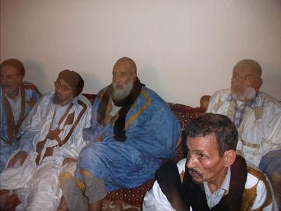 Trabajadores saharauis de la mina de fosfatos de Fos Bucraa. - WSRW