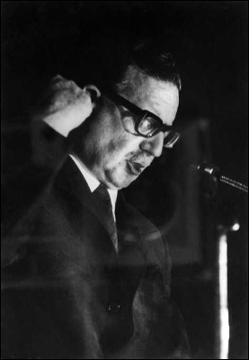 Salvador Allende, en una imagen de fecha desconocida.