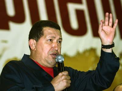 Chavez, conflicto colombia