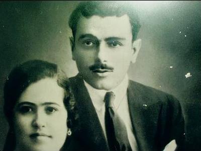 Luis Dorado junto a su esposa, Josefa Ortiz, en una fotografía de la familia.