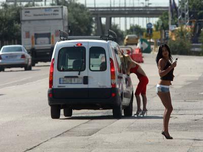 sinonimo de empujar prostitutas poligonos