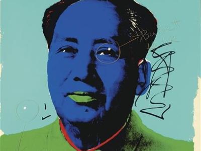 El propio Warhol etiquetó las marcas como 'tiro de advertencia' e 'impacto de bala'./ EP