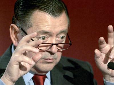 Alfredo Sáenz, consejero delegado del Santander.