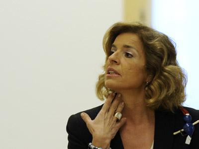 Ana Botella, concejala de Medio Ambiente.